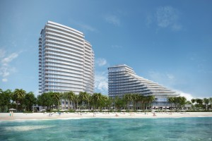 Rendering of the future Auberge Fort Lauderdale