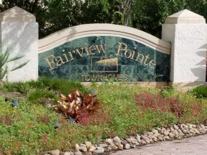 Entrance to Fairview Pointe
