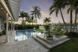Dusk at 1708 Victoria Pointe Circle - Weston