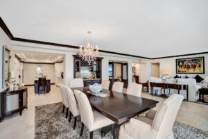 Harbourage 602 - Dining Room